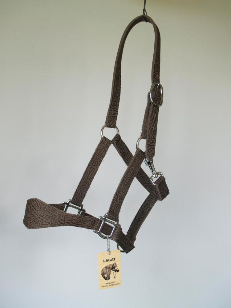 Leather halter WEST