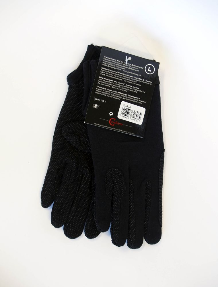 Black gloves Covaliero L